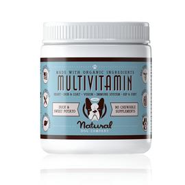 Natural Dog Company Multivitamin Supplement 90 count jar