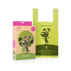 Earth rated SCENTED - 120ct Handle PoopBags
