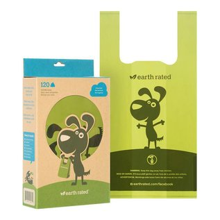 Earth rated UNSCENTED - 120ct Handle PoopBags