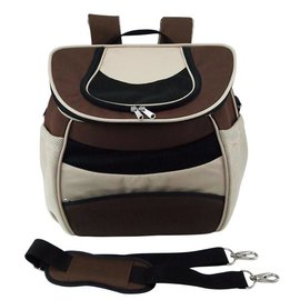 One 4 Pets Eva Backpack Brown Small