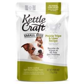 Kettle Craft Prairie Tripe & Liver- Small Bite Dog Recipe 170G