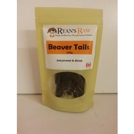 Ryan's Raw Sliced Beaver Tails 100gr