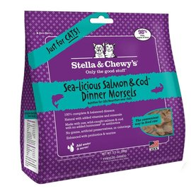 Stella & Chewy's Sea-Licious Salmon & Cod Dinner Morsels 9oz