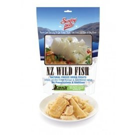 Sunday Pets NZ Wild Fish Natural Freeze Dried Treats 50gm