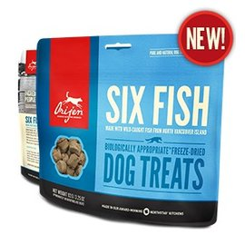 Orijen Orijen Freeze Dried Treats Six Fish