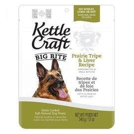 Kettle Craft Prairie Tripe & Liver- Big Bite Dog Recipe 340G