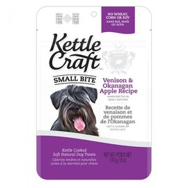 Kettle Craft Venison & Okanagan Apple - Small Bite Dog Recipe 170G