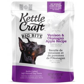 Kettle Craft Venison & Okanagan Apple - Big Bite Dog Recipe 340G
