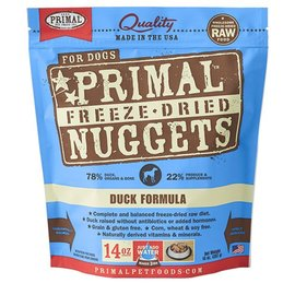 Primal Primal Freeze Dried Meal Duck - Dogs 14oz
