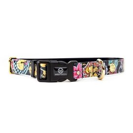 Water Pooch Stained Glass Waterproof Collar