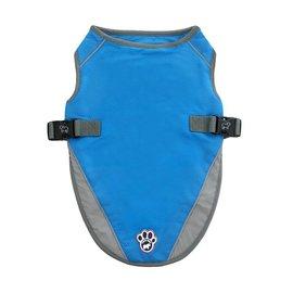 Canada Pooch Chill Seeker Cooling Vest Aqua