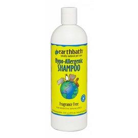Earth bath Hypoallergenic Shampoo - Frangrance Free 16oz