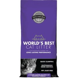 Worlds Best Worlds Best Lavender Scented Cat Litter Clumping