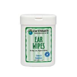 Earth bath Grooming Wipes - Ear Wipes (25ct)