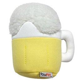 FouFou Dog Freeze 'n' Float Plush Junk Food Toys - Beer