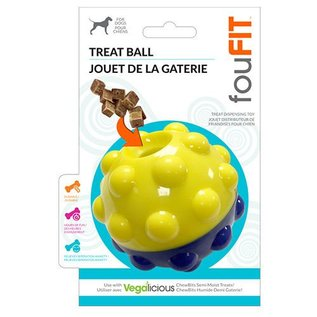 FouFou Dog Bumper Treat Ball 5""