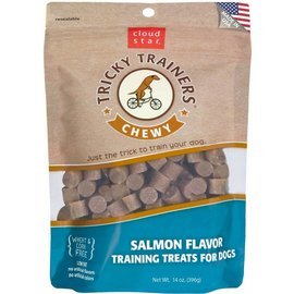 Cloudstar Tricky Trainers Chewy Salmon Dog Treats 14oz