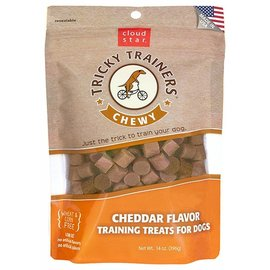 Cloudstar Tricky Trainers Chewy Cheddar Dog Treats 14oz