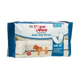 Four Paws Wee-Wee Diapers X-Small 12 Pack