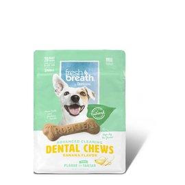 Tropiclean Dental Chew Banana Flavour 11oz