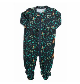 Nohi Kids Nohi Kids | Bamboo Blend Jungle Footie