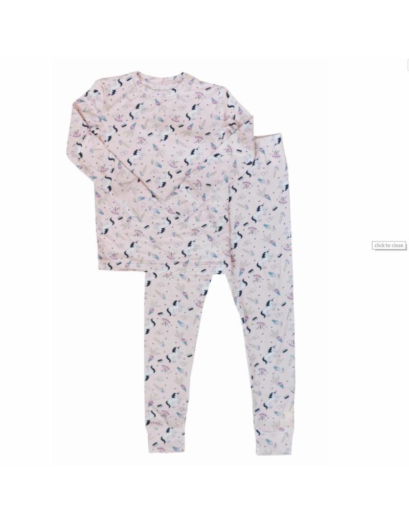 Nohi Kids Nohi Kids | Bamboo Blend Unicorn Pajama Set