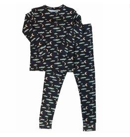 Nohi Kids Nohi Kids | Bamboo Blend Night Sky Pajama Set