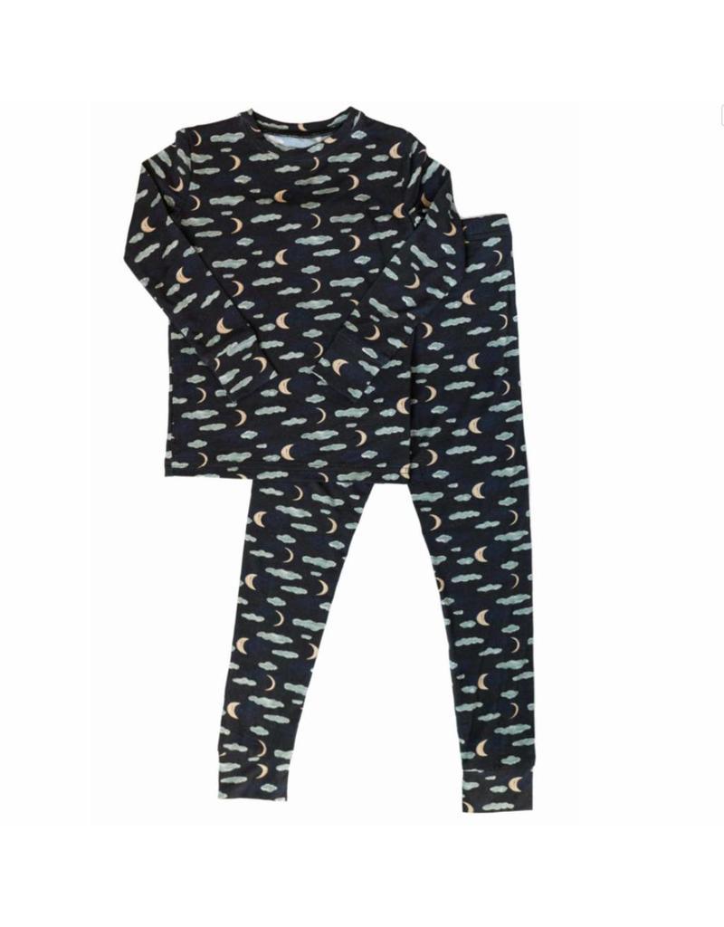 Nohi Kids Nohi Kids   Bamboo Blend Night Sky Pajama Set