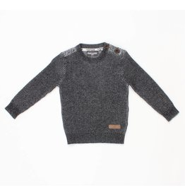 Romy & Aksel | Button Shoulder Sweater