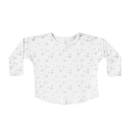 Quincy Mae Quincy Mae | Long Sleeve Baby Tee in Ivory