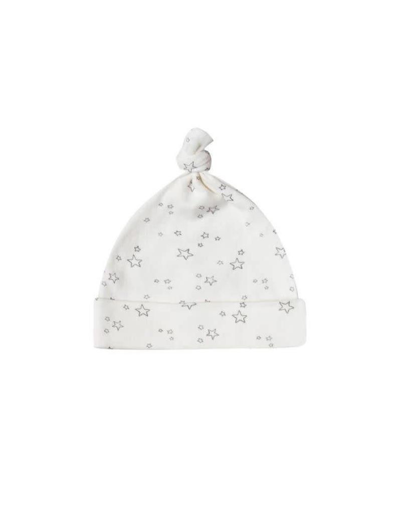 Quincy Mae Quincy Mae |Knot Hat in Ivory Stars