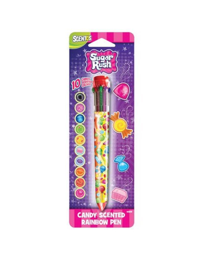 Sugar Rush Scented 10 Color Pen