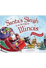 Santa's Sleigh is on its Way to Illinois Book