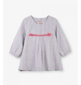 Hatley Hatley | Metallic Stripe Baby Dress