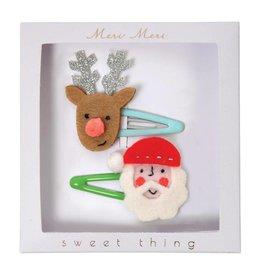 Meri Meri Meri Meri | Santa & Reindeer Hair Clips