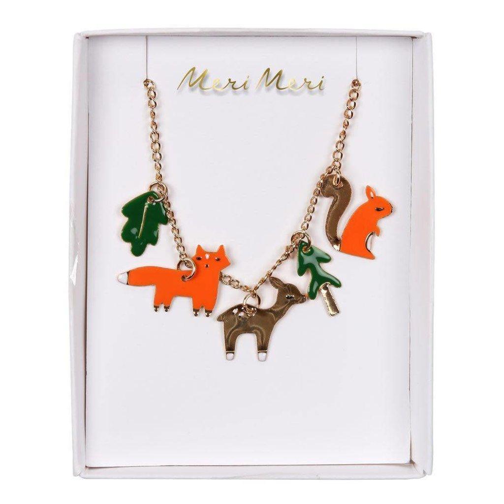 Meri Meri | Woodland Enamel Charm Necklace