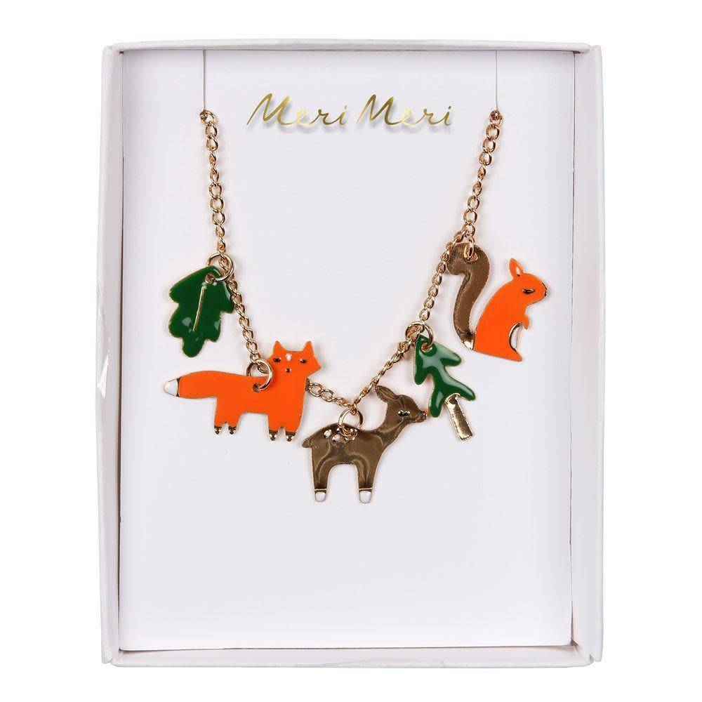 Meri Meri Meri Meri | Woodland Enamel Charm Necklace