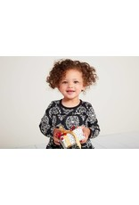 Tea Collection Tea Collection| Patterned Tiered Baby Dress
