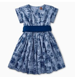 Tea Collection Tea Collection| Woodland Toile Party Dress