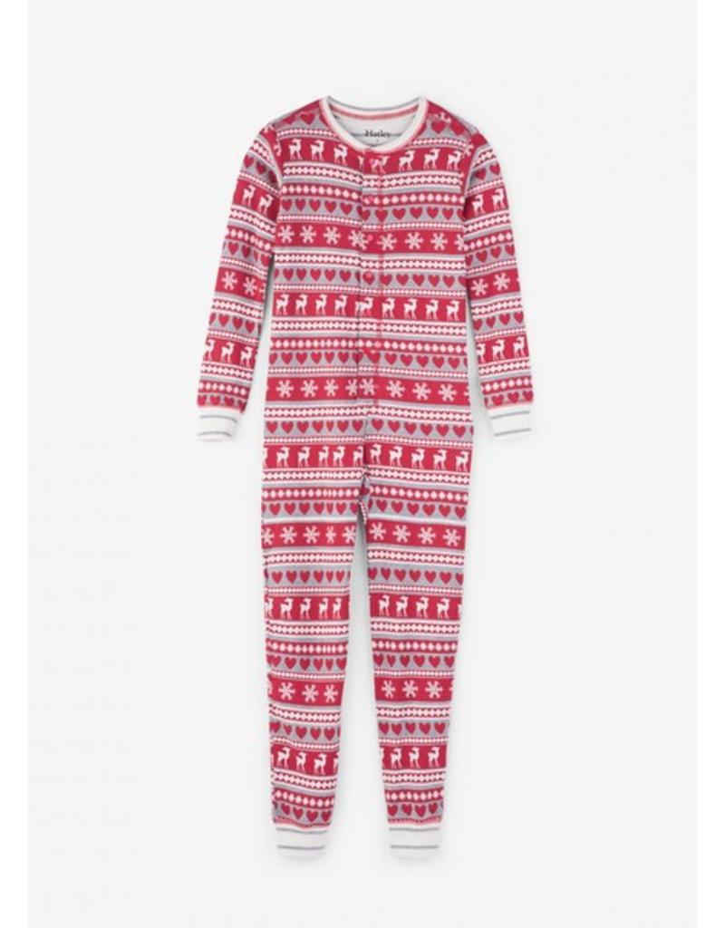 Hatley Hatley |Fair Isle Fawn Holiday Pajama