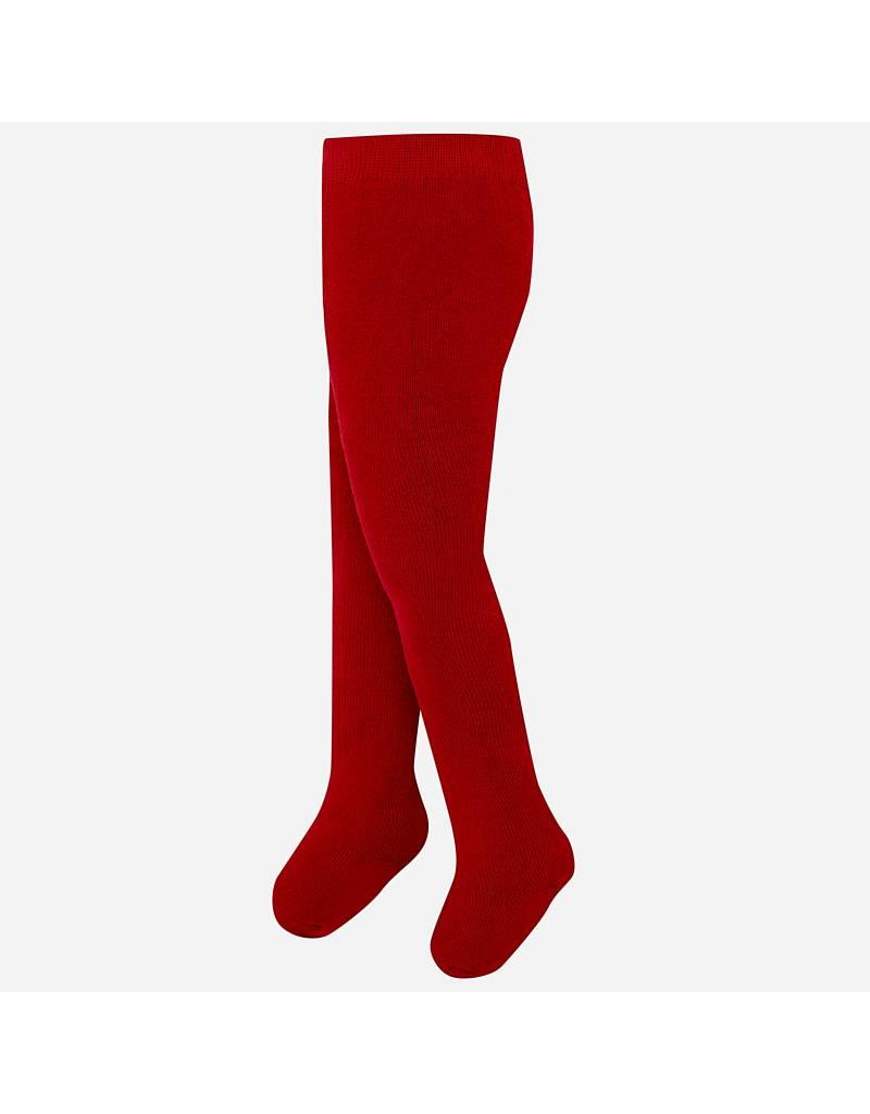 Mayoral Mayoral| Solid Red  Baby Tights