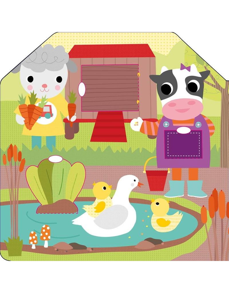 Little Friends: Barnyard Fun Board Book