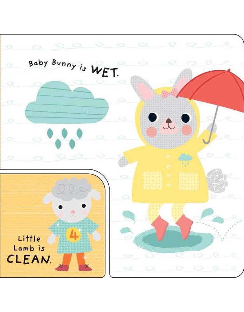 Little Friends Board Book: Big and Small
