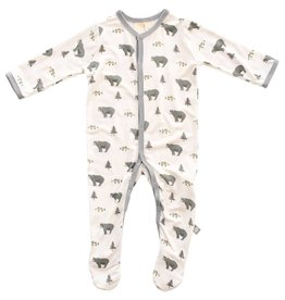 Kyte Baby Kyte Baby | Printed Footie in Creek