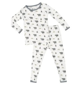 Kyte Baby Kyte Baby | Printed Pajamas in Creek