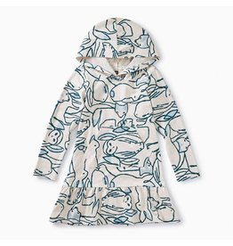 Tea Collection Tea Collection | Arctic Animals Hoodie Dress