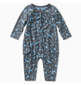 Tea Collection Tea Collection | Flora And Fauna Pocket Romper