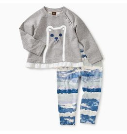 Tea Collection Tea Collection | Furry Friend Baby Outfit