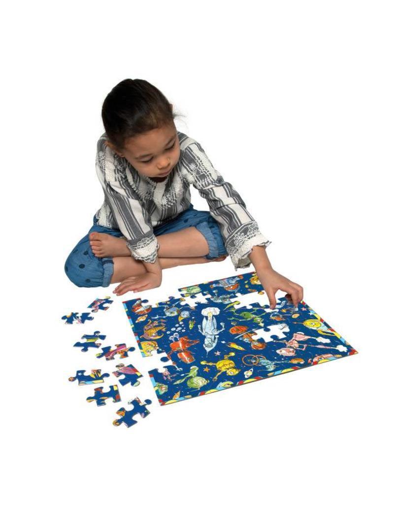 eeBoo eeboo | Lots of Robots 64 Piece Puzzle