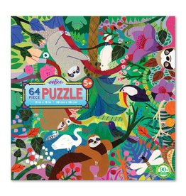 eeBoo eeboo | Sloths at Play 64 Piece Puzzle